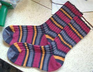 Sassy otter socks
