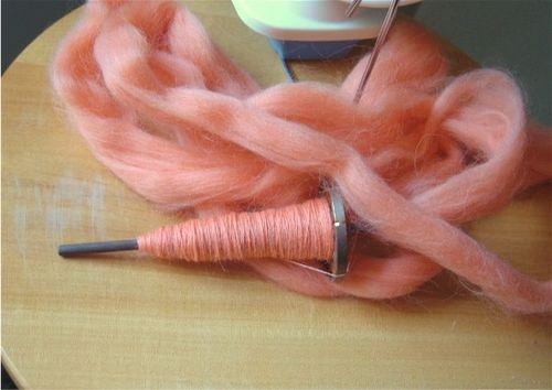 Orange roving