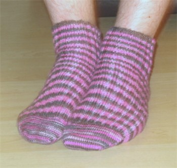 Punk Pink (Man) Socks